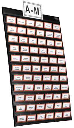 featured easy event hosting name tag tamer board