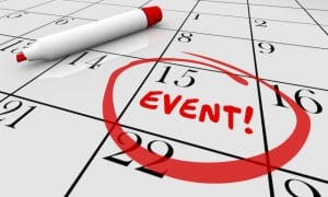 easy event scheduling tips on calendar date selection with red marker